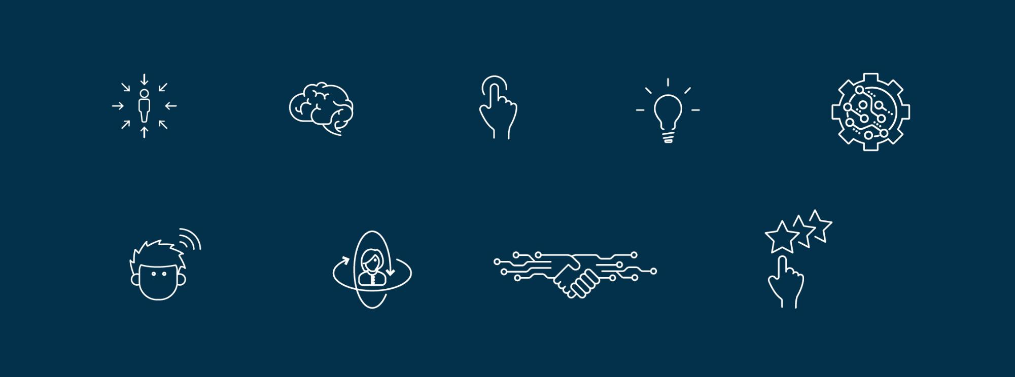 Experience 2030 Icon Examples
