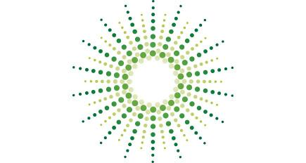 Burst Graphic Green