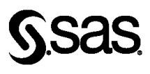SAS logo black