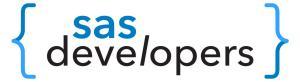SAS Developers logo landscape