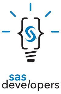 SAS Developers Logo Lightbulb